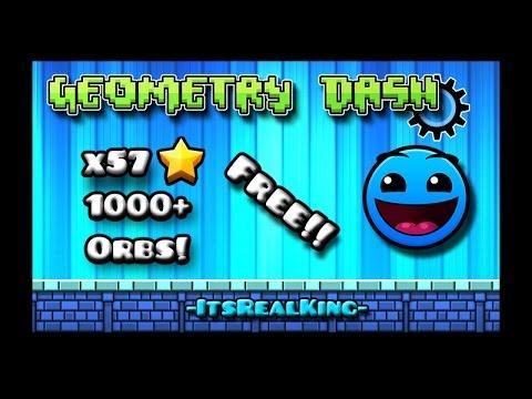 -Geometry Dash 2.1- ¡¡¡¡ 57 Free Stars And Orbs !!!!   ItsRealKing