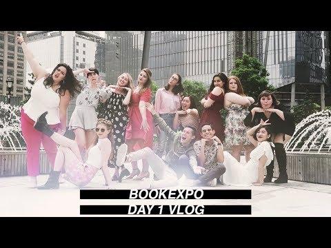 BookExpo Day 1 🥂(vlog 005)   Jenna Clare