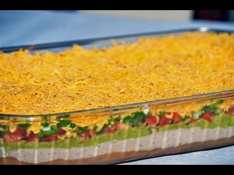 Reel Flavor - 7 Layer Mexican Dip