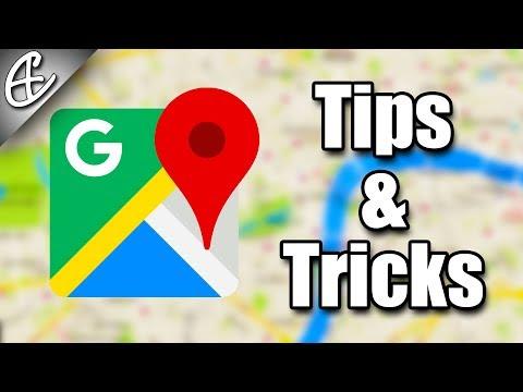 Google Maps - Unique Tips & Tricks!