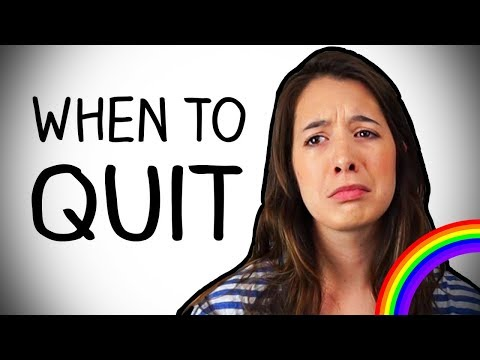 When To Quit (According to Math)
