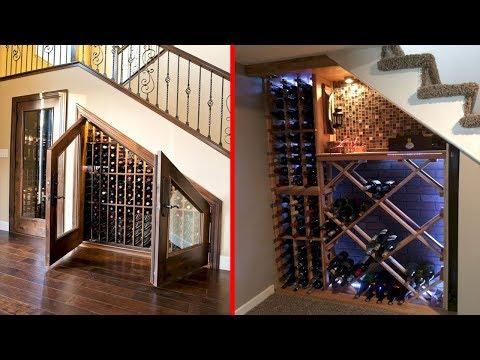 Cool Wine Cellar Under Stairs Wine Storage Ideas