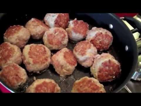 VITO'S ITALIAN CUCINA  GOBBLE GOBBLE MEATBALLS & Recipe