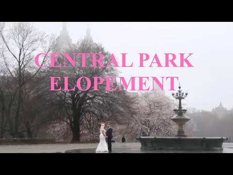 Central Park Wedding | Stefanie Hurtado