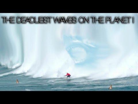 SURF: DEADLIEST WAVES ON THE PLANET (PART 1)   DUNGEONS, MAVERICKS, TEAHUPPO, JAWS, NAZARÉ