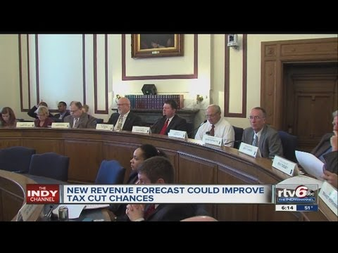 New revenue forecast for Indiana improves chances for Gov. Mike Pence's tax cuts