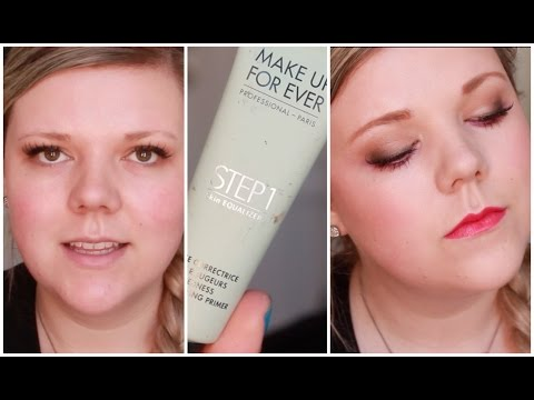 NEW Make Up For Ever Step1 Primer! Review And Demo!