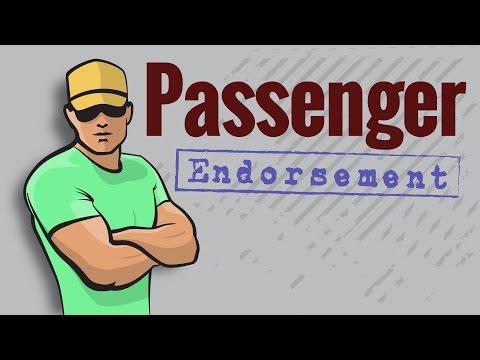 CDL Permit: PASSENGER Endorsement