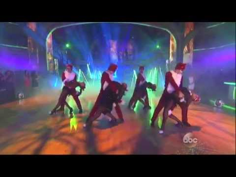 Team Foxing Awesome on DWTS 10-28-13