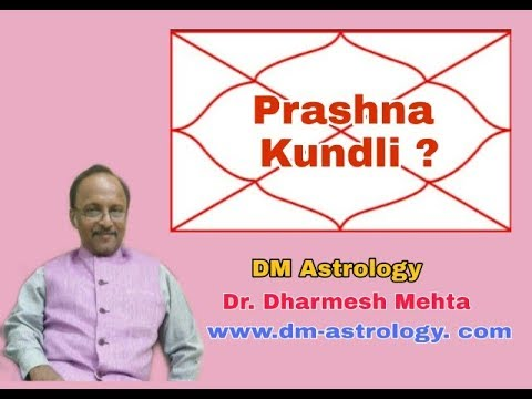 Prasna Kundli an Easy way of interpretation by Dr.Dharmesh Mehta