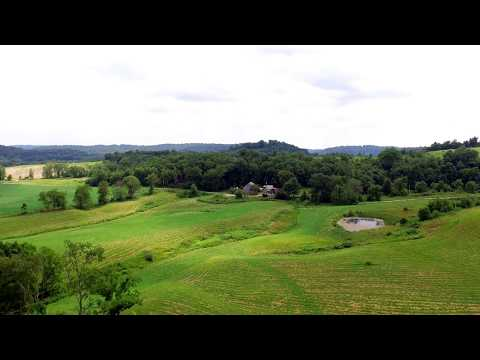 16.5 Acre Kimbolton Farm With Pond For Sale in Guernsey County Ohio