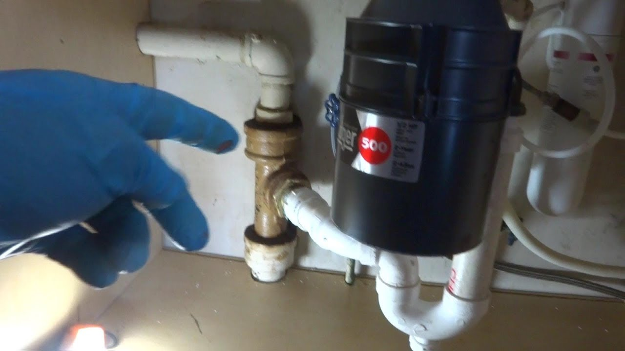 kitchen sink drain backing up