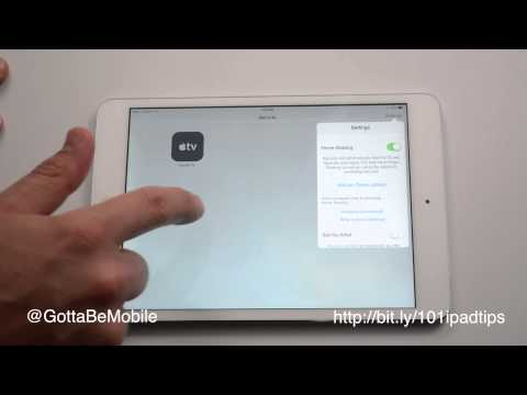 How to use iPad as Apple TV Remote