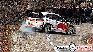 Test Rallye Monte Carlo 2018 - Sébastien Ogier / Ford Fiesta WRC - RallyeChrono