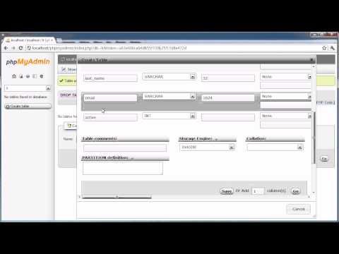 PHP Tutorials: Register & Login (Part 1): Database