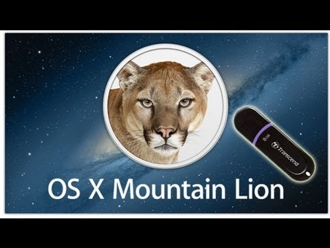 How to Create Bootable Mountain Lion 10.8 USB Flash Drive