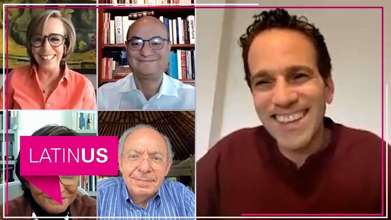Mesa de Análisis con Loret: Heredia, Casar, Silva-Herzog y Aguilar Camín.