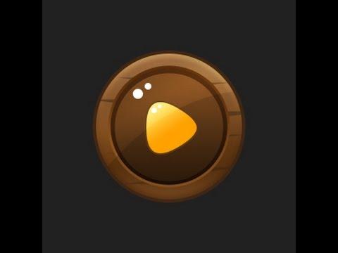 Photoshop Game Button #06 [UI design]