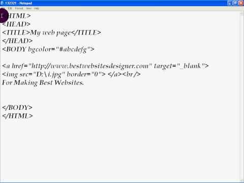 bestwebsitesdesigner.com How to create Image Link in HTML