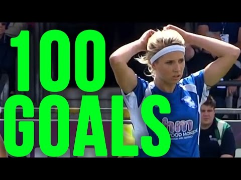 100 GOALS IN WOMEN'S FOOTBALL