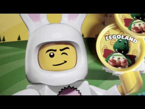 Searching for Easter Treats, Legoland Windsor, Easter Pop Badge Challenge 2017