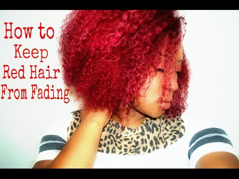 How To Keep Red Hair From Fading