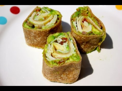 Turkey Avocado Pinwheels Recipe