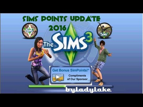 How to get The sims 3 sims point update 2016