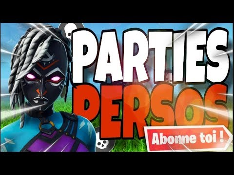 Xxx Mp4 PARTIES PERSO FORTNITE FR Pp Partie Perso 3gp Sex