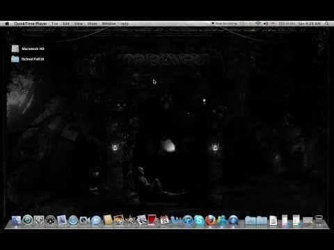 How do I get my hard drive icon off my desktop Mac OS X