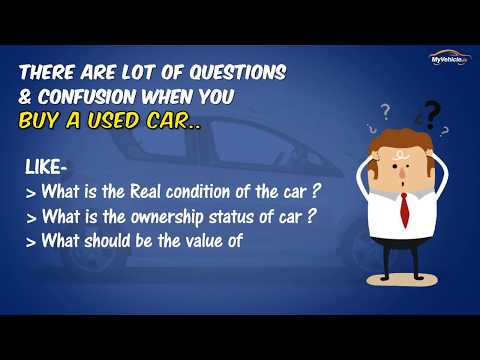 How to check Used Car History in Ireland or U.K - MyVehicle.ie