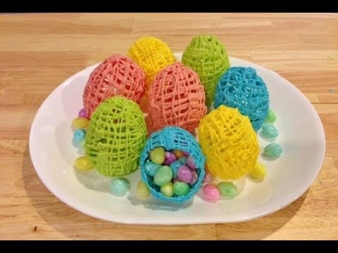 Make Fancy Hollow Chocolate Easter Eggs