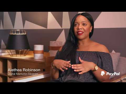 Alethea Robinson - See Girl Work - PayPal (15 second ad)