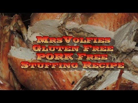 Gluten Free/ Pork Free Stuffing Recipe