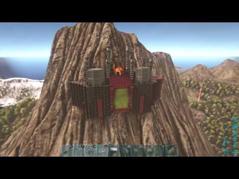 ARK: Survival Evolved volcano base pt2