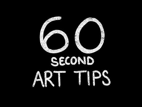 Use Random Word Generators For Inspiration [60 Second Art Tips]