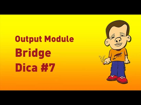 Output Module Adobe Bridge
