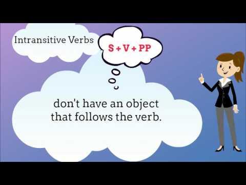 Transitive vs Intransitive
