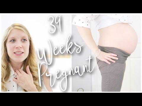 39 WEEKS PREGNANT - LABOUR SIGNS, NOSEBLEEDS & BIRTH PLAN