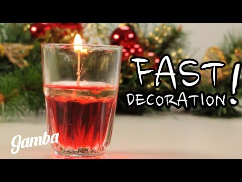 How to Make Decorative Candles - DIY Crafts