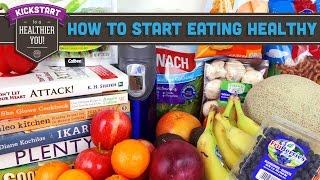 How to get started eating healthy! Mind Over Munch Kickstart 2016