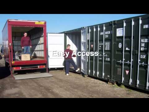 Low Cost Self Store Containers To Rent DA3 Kent