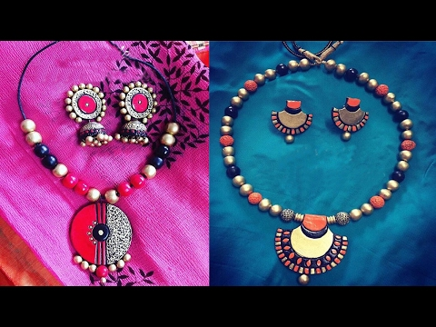 Terracotta Beads Making || How to Making  Terracotta Bead || WOMEN'S SPECIAL