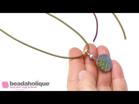 Quick Tip: How to Make a Stopper Bead on Leather Cord