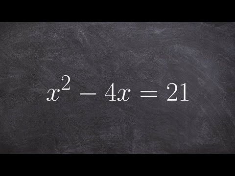 Solving a quadratic equation when not equal to zero by factoring