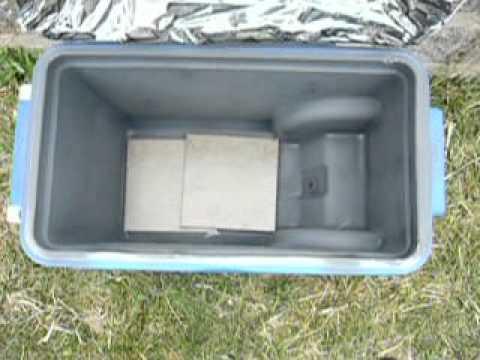 DYI Solar oven on the cheap