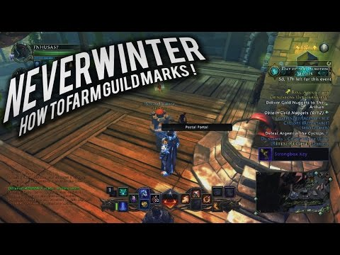 Neverwinter: How to farm Guild marks