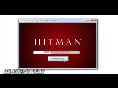 Hitman -- Sniper Challenge -- Keygen