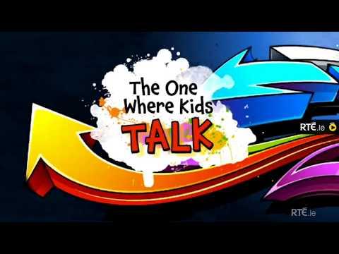 Stephen James Smith @SJSwords - RTÉ Jr - The One Where Kids Talk