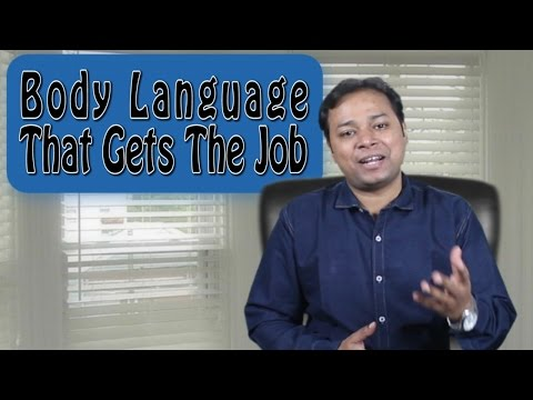 Body Language for Success in a Job Interview